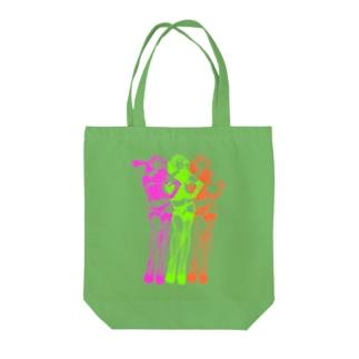 トリプル・ウノ(ネオン) Tote bags