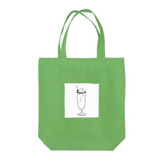 メロンソ〜ダ Tote bags