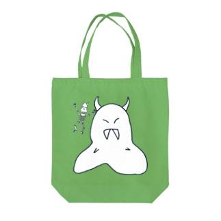 オバケとガイコツ Tote bags