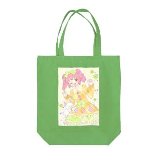 イースターちゃん Tote bags
