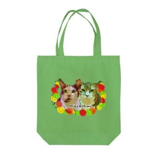 ミケちゃん&ミミちゃんチャリティー Tote bags
