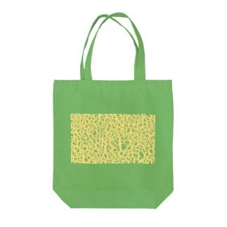メロン Tote bags