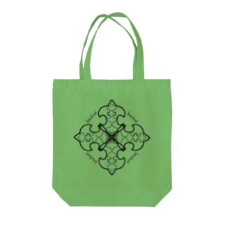 lyricchordシード黒ライン/ドローイングアートトート Tote bags