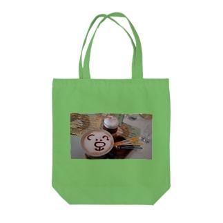 🐻KUMAcafé☕ Tote bags