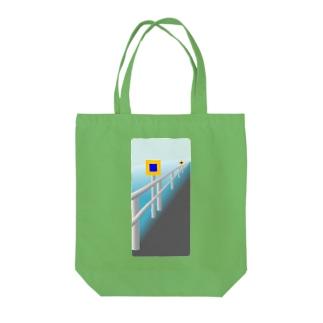 投雪禁止区域指定標示板 Tote bags