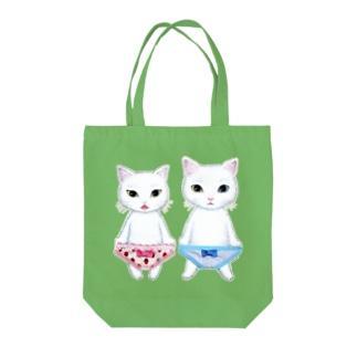 ににくん&みみっちょちゃん飼い主さま専用 Tote bags