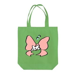おっきいリボン Tote bags