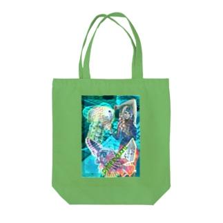 パワーストーン『パイライトインクォーツ』 Tote bags