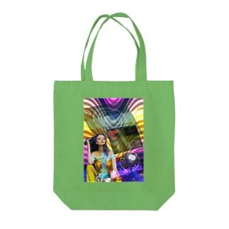 パワーストーン『ブラッドショットアイオライト』 Tote bags