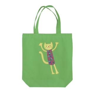 ほそっちょシリーズ(ねこ) Tote bags