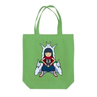 あっちゃん大魔王 Tote bags