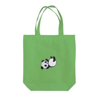 コロンパンダ Tote bags