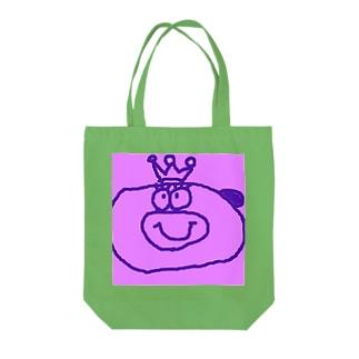 真っ赤な王様 Tote bags