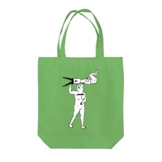 持つ Tote bags