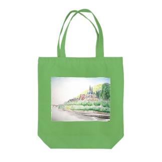 ネッカー川 Tote bags