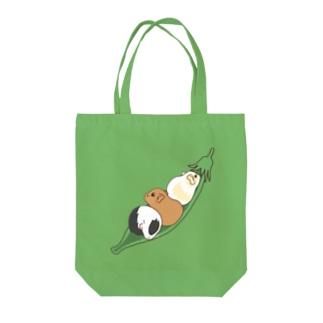 えんどう豆とモルモット Tote Bag