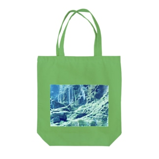 Silent Moss Tote bags
