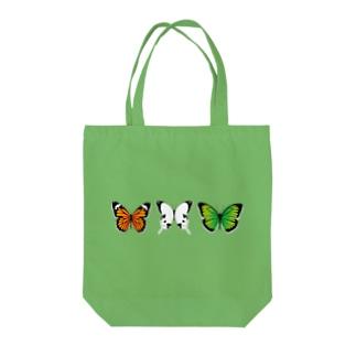3匹の綺麗な蝶々 Tote bags