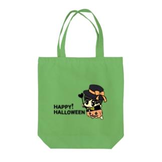 ミニてつくんHALLOWEENパンプキン Tote bags