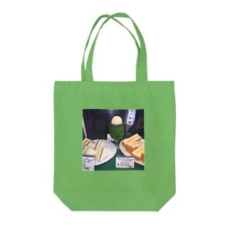 メロンとタマゴ Tote bags