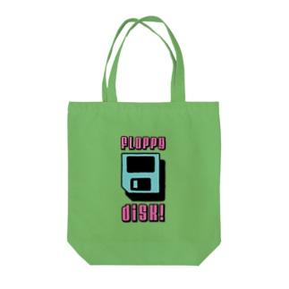 ふろっぴー Tote bags