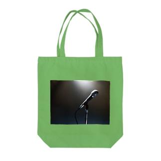 ボーカリストステージ マイク スポットライト Tote Bag