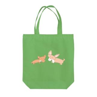 阿留間二郎の友達犬 Tote bags