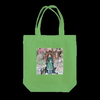 momosasanoiの中国茶の魔女 Tote bags