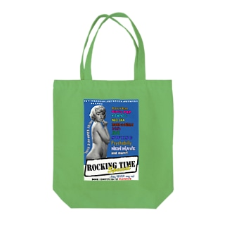 Rocking Time Tote bags