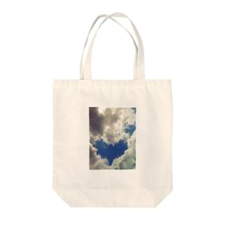 空からの贈りもの Tote bags