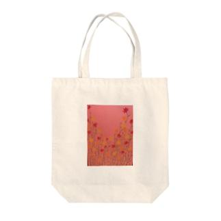 薄暮の花 Tote bags