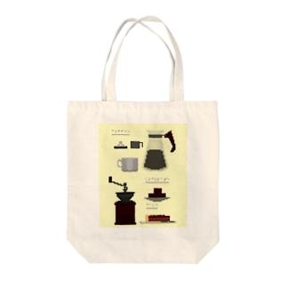 ボクセル珈琲 Tote bags