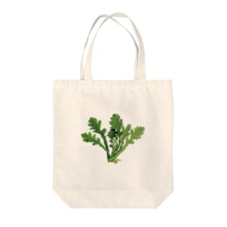 水彩生春菊 Tote bags