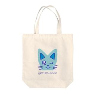 猫ちゃん トートバッグ
