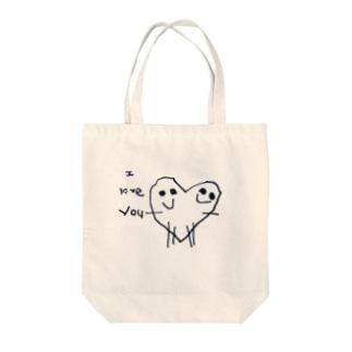 愛loveyou Tote bags