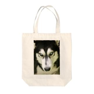 THE ハスキー Tote bags