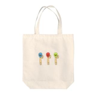 マッチョズ Tote bags