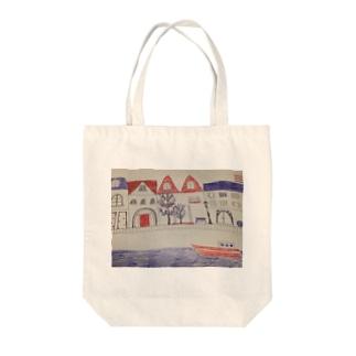 街並み Tote bags