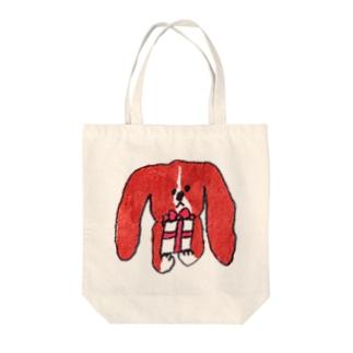 wanからのプレゼント Tote bags