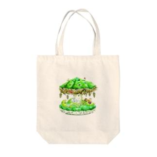虫のメリーゴーラウンド Tote bags