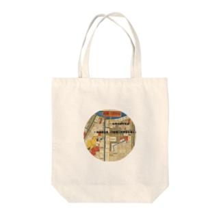 本所深川絵図 Tote bags