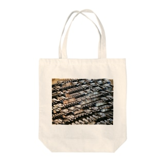 王宮のスクリプト Tote bags