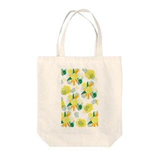 yellow_flower Tote bags