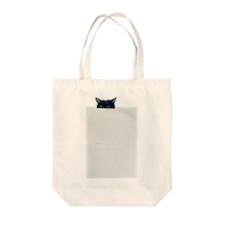 ちょっとだけ猫 Tote bags