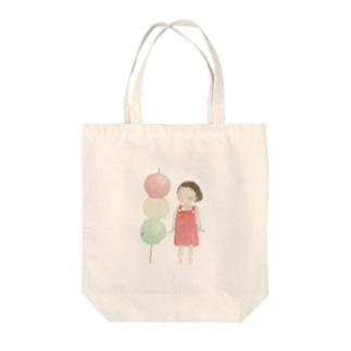 のんちゃん Tote bags