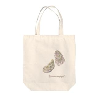 カキ(大) Tote bags