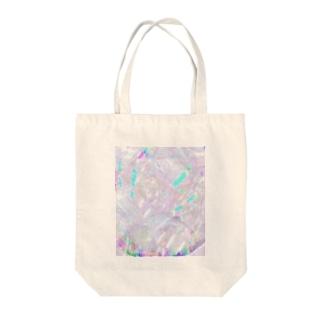 しゃぼん Tote bags
