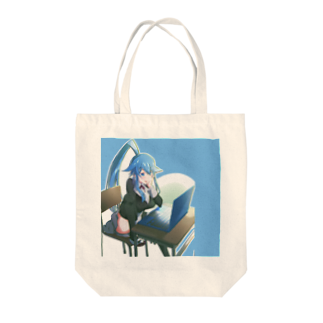 ブラッククマンの熊乃さん Tote bags
