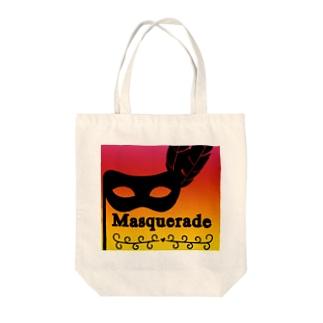Masquerade Tote bags