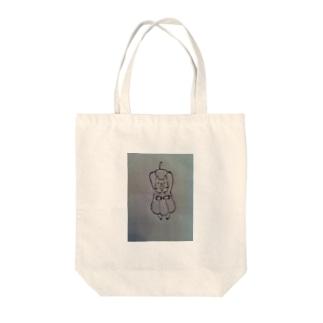 ぶたぴぃ Tote bags